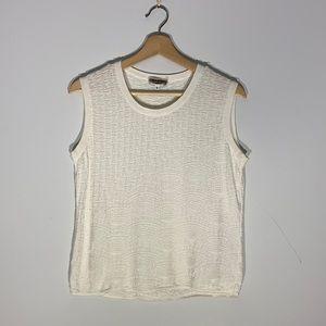 Vintage Giorgio Armani Knit Pattern Vest Top